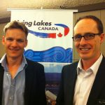 "Paul Kemp (filmmaker, ""Save My Lake"") and Allan Casey (author, Lakelands)."
