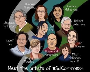 scicomm artists