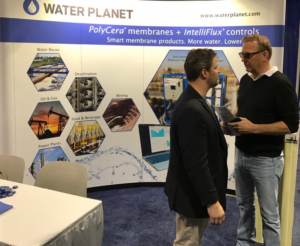 Eric Hoek, CEO of Water Planet, and famed actor Kevin Costner are committed to advancing water sustainability through reuse